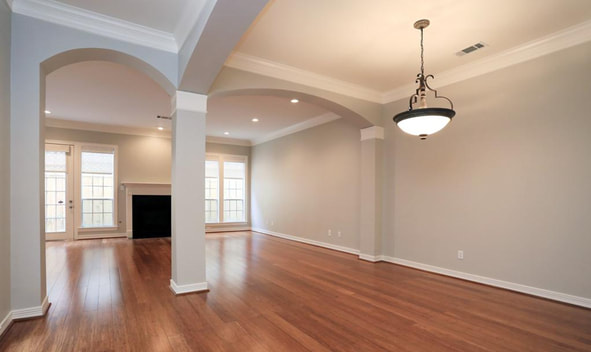 interior painting services of family room boston